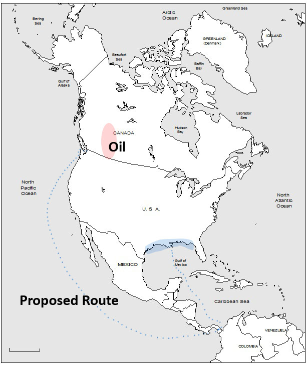 Shipping Canada's oil